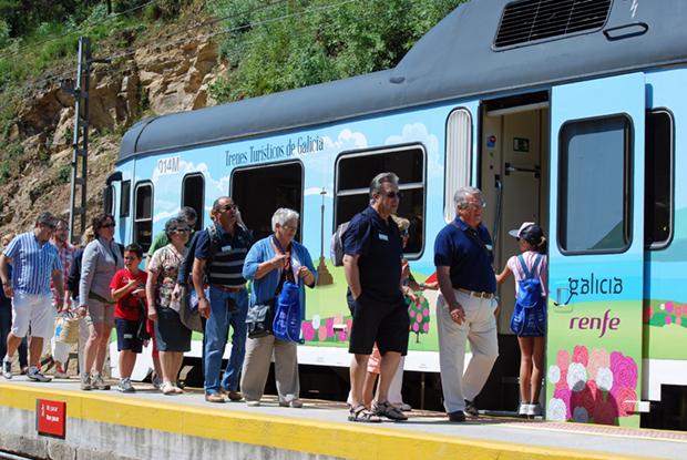Estación de Tren - Santgo Estevo de Ribas de Sil