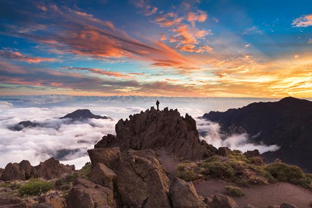 Roque de Los Muchachos (Isla de La Palma. Canarias)